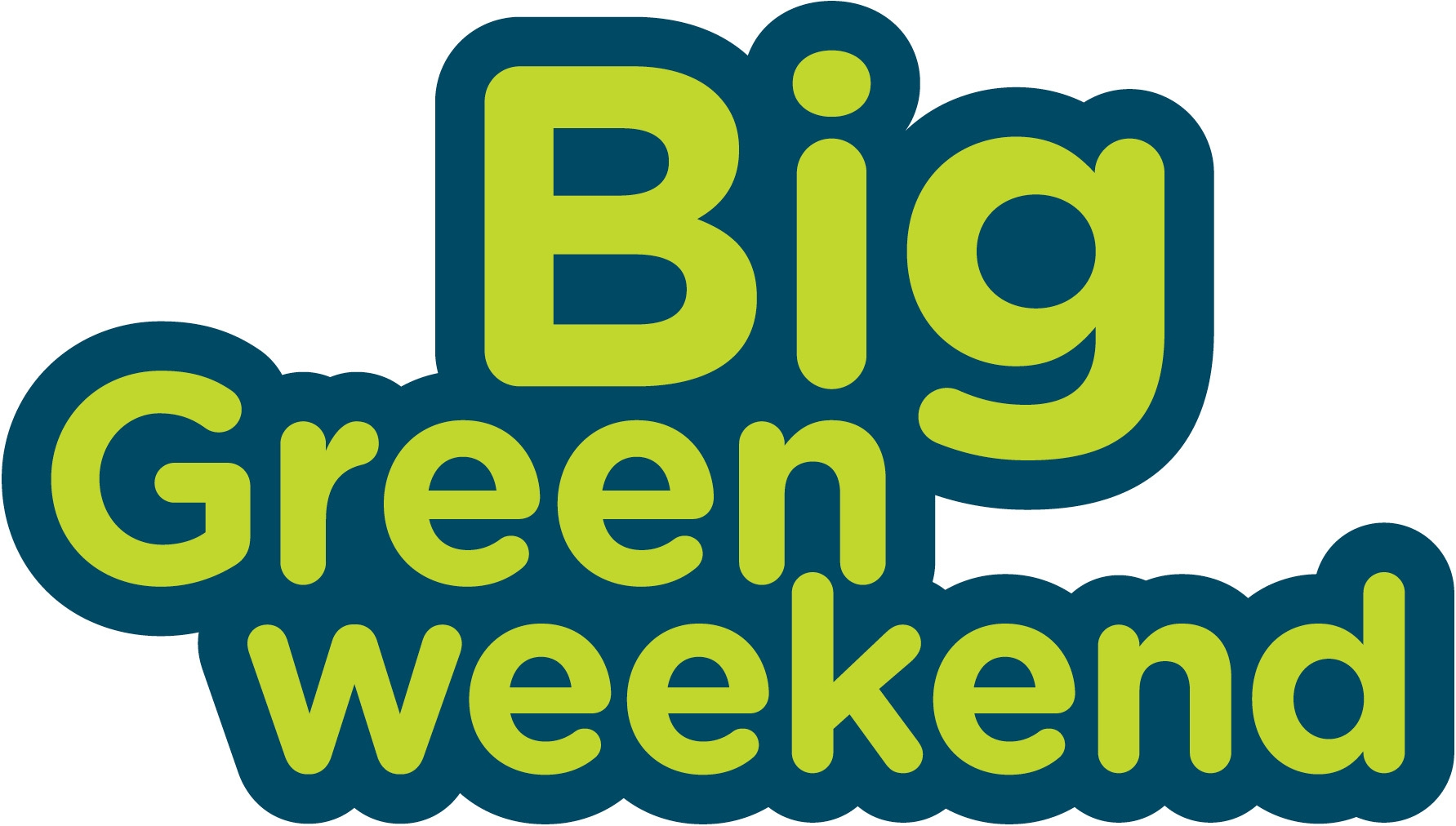 big green weekend image colour